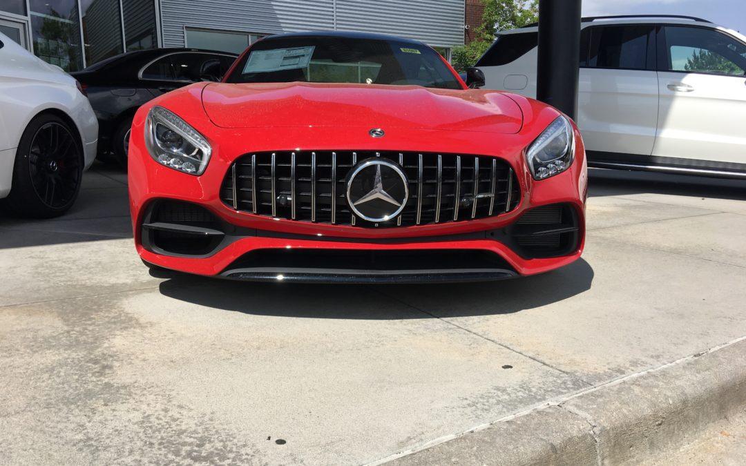 Visit to the Mercedes Dealership