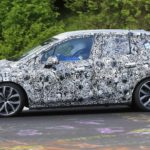 New BMW 2 Series Active Tourer Spied On The 'Ring Looking Agile