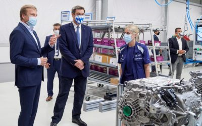 BMW Expands e-Drive Production At Largest European Plant to Rival Tesla