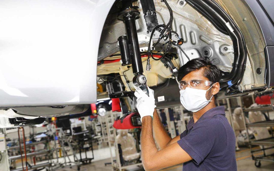 BMW India restarts car production with less than 50% workforce