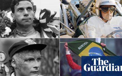 Clark, Brabham, Lauda, Senna: 70 years of Formula One remembered   Formula One   The Guardian