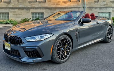 2020 BMW M8 Competition Convertible: It's More Fun When It's Parked