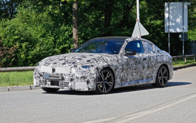 2021 BMW 2 Series Coupe: best look yet at RWD model