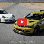 Nitto Tire Presents: BMW E46 M3 vs Porsche 996 – Driver Battles – Track Edition