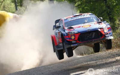 Rally Turkey WRC: Legend Loeb leads after opening day
