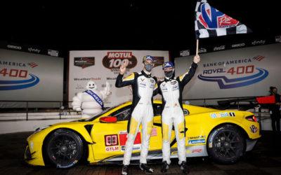 Corvette triumphs on rain-slick Charlotte Roval; BMW wins GTD