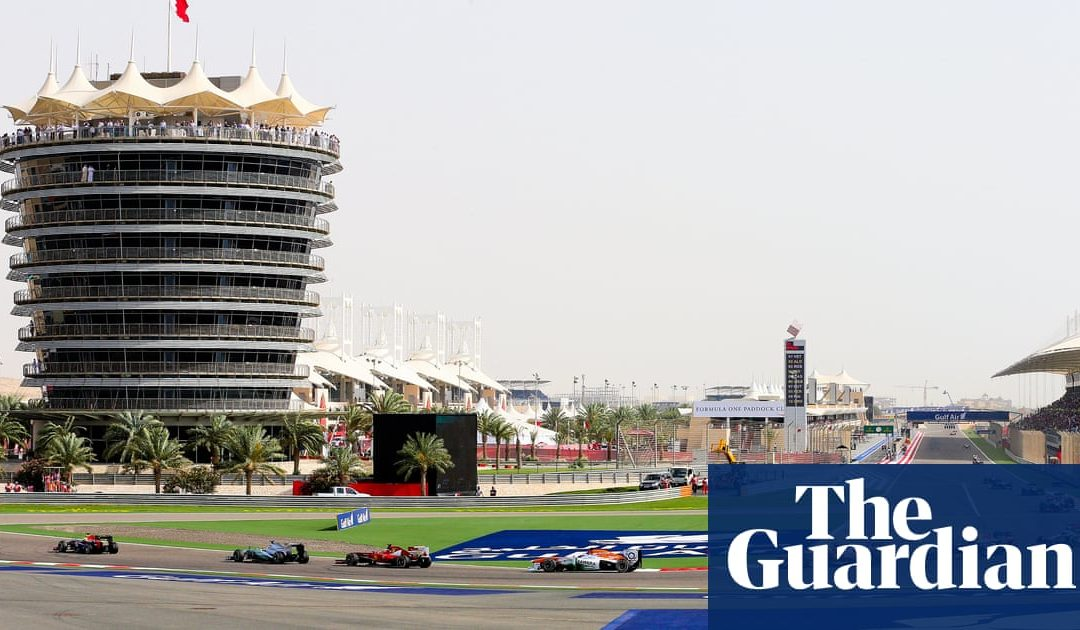 Formula One faces charge of aiding sportwashing by racing in Bahrain | Formula One | The Guardian