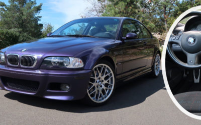 Get Your Techno Violet Groove With This Beautiful E46 BMW M3 Individual