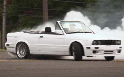 E30 BMW With a Tesla Swap Might be the Start of the Next Big Thing