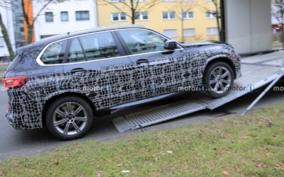 Interesting BMW X5 Prototype Spied: Facelift Or Something Else?