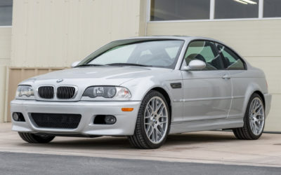 BaT Auction: One-Owner 35k-Mile 2003 BMW M3 Coupe 6-Speed