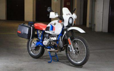 A Rare 1985 BMW R80 G/S Paris-Dakar – 1 of 200 Ever Made