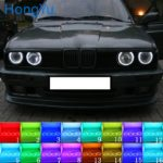 Latest Headlight Multi-color RGB LED Angel Eyes Halo Ring Eye DRL RF Remote Control For BMW E30 E32 E34 1984-1990 Accessories - Mega Discount #2ED0AD | Geico-insurance