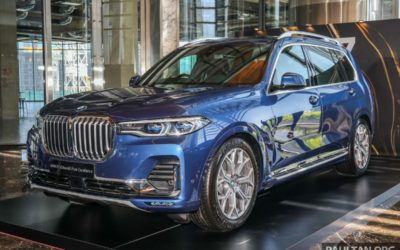 G07 BMW X7 previewed in CKD form – sole xDrive40i Design Pure Excellence variant; RM708,000 estimated