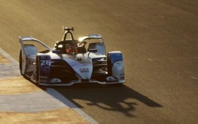 BMW i Andretti Motorsport ahead of the Diriyah E-Prix