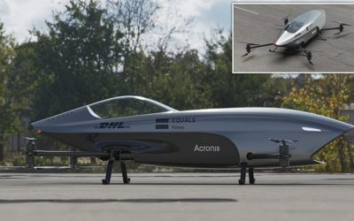 'Formula One of the skies': World's first FLYING race car unveiled with top speeds of 75mph   Daily Mail Online