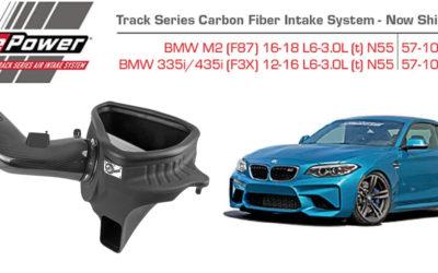 aFe Track Series Carbon Fiber Intake System for '16-'18 BMW M2 (F87)