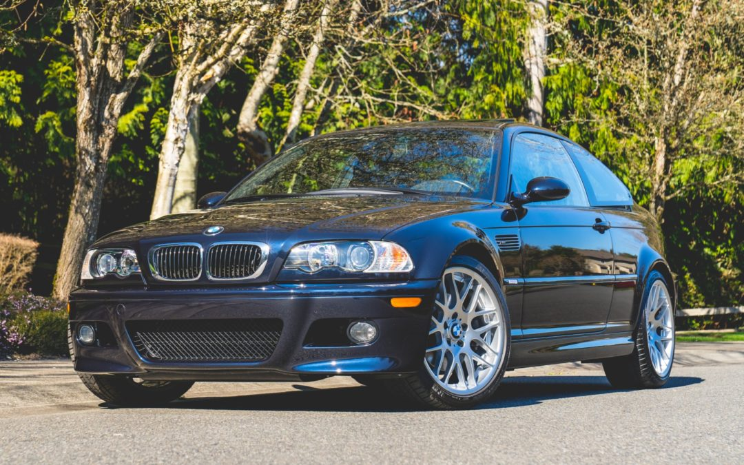 BaT Auction: 20k-Mile 2004 BMW M3 Coupe 6-Speed