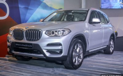 G01 BMW X3 sDrive20i xLine launched in Malaysia – 184 PS and 300 Nm; CKD; priced from RM271k