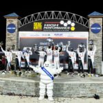 Double podium for BMW Team RLL at the Twelve Hours of Sebring.