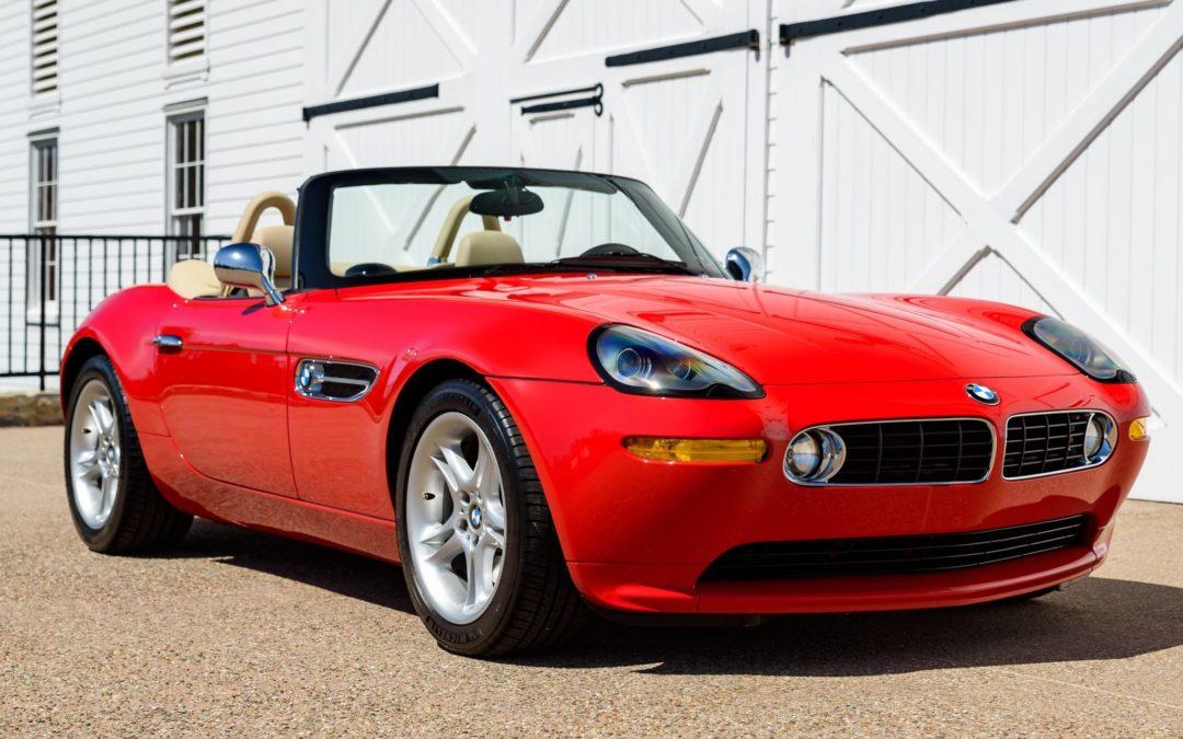 BaT Auction: 23k-Mile 2002 BMW Z8