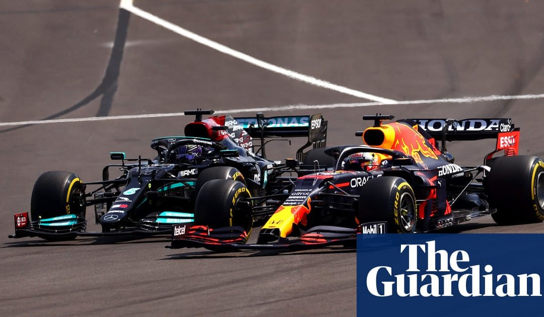 Lewis Hamilton and Max Verstappen salute mutual respect after latest battle | Formula One | The Guardian