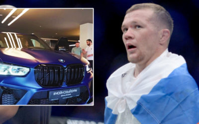Knockout motor: Ex-UFC champ Yan hits brakes on mocking 'clown' sterling to become first Russian owner of limited edition BMW car