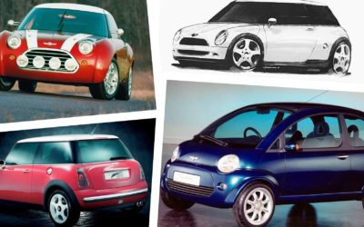 BMW's Mini Turns 20 This Week, But Here's How It Could Have Looked   Carscoops