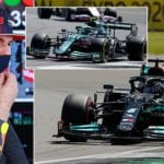 Max Verstappen makes history to win the first ever Sprint race in Formula One | Daily Mail Online