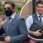 Tom Cruise 'has thousands of pounds worth of luggage stolen after thieves take his bodyguard's BMW' | Daily Mail Online