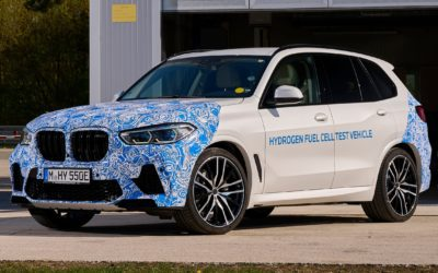 New 2022 BMW iX5 Hydrogen revealed | Practical Motoring